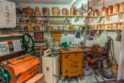 Victorian domestic kitchen and entertainment equipment