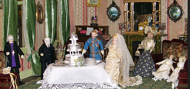See the Victorian Dolls House - one of a kind!